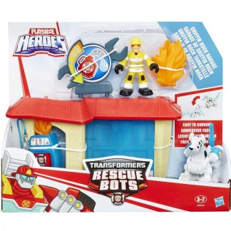 Playskool Heroes Transformers Rescue Bots Griffin Rock Garage