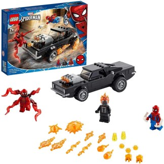 LEGO 76173 Spider-Man and Ghost Rider vs. Carnage with Car
