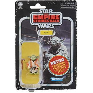 Star Wars Retro Collection Yoda Toy 3.75-inch Empire Strikes Back Figure