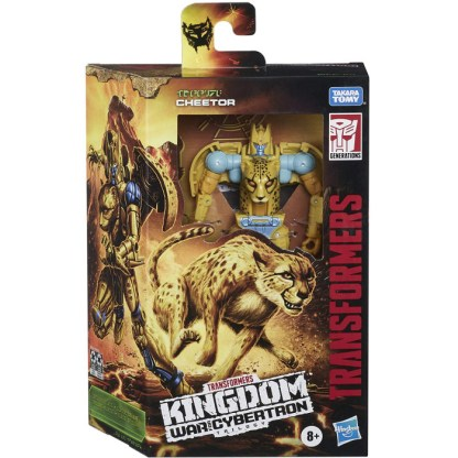 Transformers Toys War for Cybertron Kingdom Deluxe Cheetor Action Figure