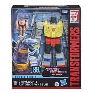 Transformers Studio Series Leader Class Action Figure Grimlock & Autobot Wheelie
