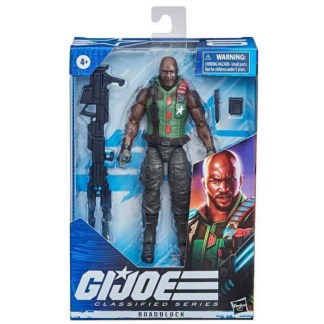 G.I. Joe Classified Series 6-Inch Roadblock Action Figure Toy Variant