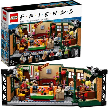 LEGO Ideas 21319 Friends Central Perk 25th Anniversary Building Set Toy