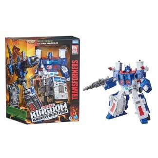 Transformers War For Cybertron Kingdom Ultra Magnus Leader Class Action Figure Toy