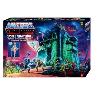 Masters of the Universe Origins Castle Grayskull Playset Toy