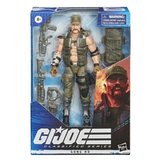 GI Joe Classified Series 6-Inch Gung Ho Action Figure Toy