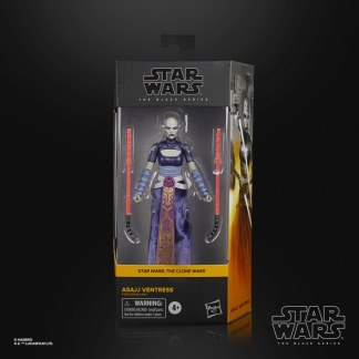 Star Wars The Black Series Asajj Ventress Action Figure Toy