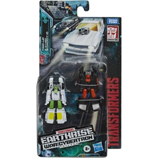 Transformers Earthrise Micromasters Trip-Up & Autobot Daddy-O Action Figures