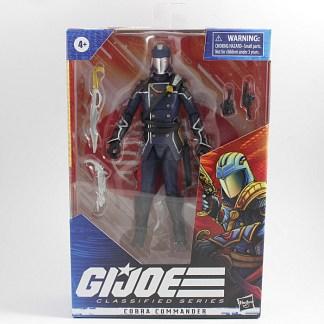 GI Joe Classified Cobra Commander Action Figure PREOWNED
