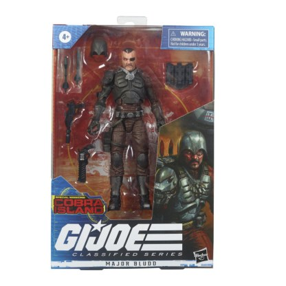 GI Joe Classified Series 6-Inch Major Bludd Action Figure Toy