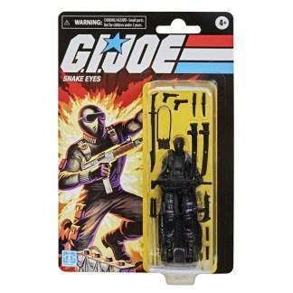 "GI Joe Retro Collection Snake Eyes 3.75"" Action Figure Toy"