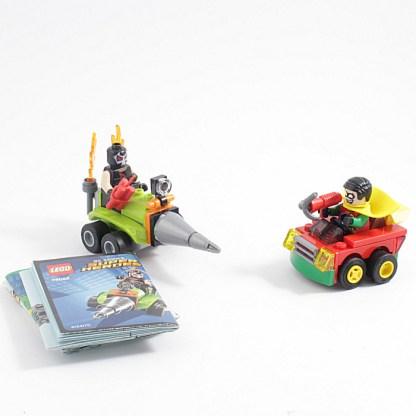 LEGO 76062 DC Comics Superheroes Mighty Micros: Robin vs Bane Building set PREOWNED