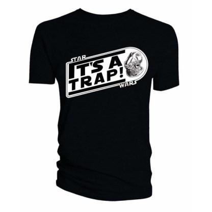 Star Wars Admiral Ackbar It's a Trap T-Shirt