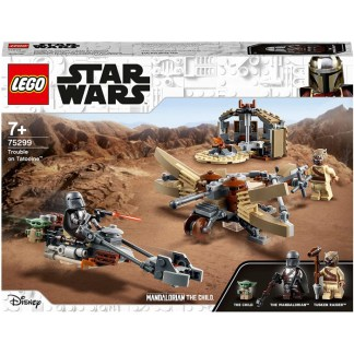LEGO 75299 Star Wars The Mandalorian Trouble on Tatooine Building Set Toy