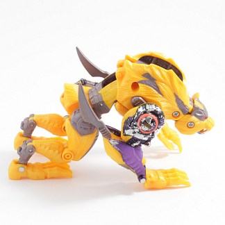 Transformers Beast Wars Transmetals 2 Cheetor Action Figure Incomplete PREOWNED