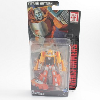 Transformers Titans Return Wheelie Sealed Action Figure Toy PREOWNED