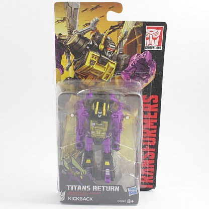 Transformers Titans Return Kickback Sealed Action Figure Toy PREOWNED