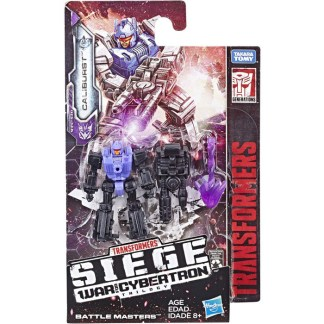Transformers Toy Generations War for Cybertron: Siege Battle Masters Caliburst Action Figure