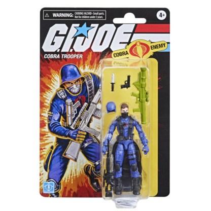 G.I. Joe Retro Cobra Trooper Toy 3.75-Inch-Scale Collectible Action Figure