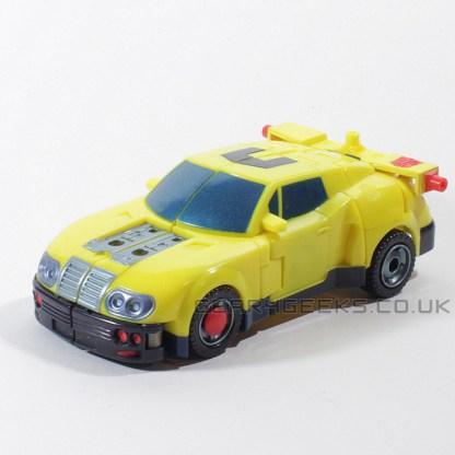 Transformers Armada Hot Shot Inomplete PREOWNED