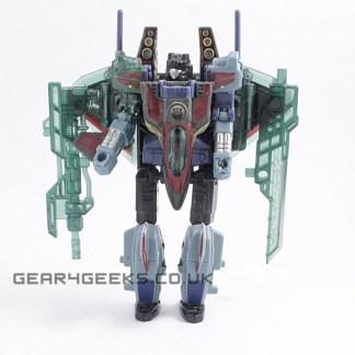Transformers Energon Combat Class Starscream Complete PREOWNED