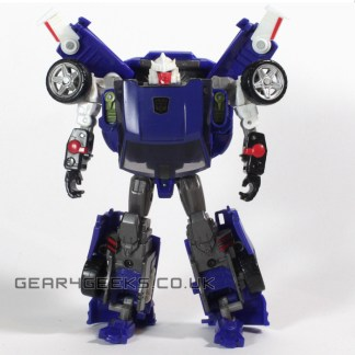 Transformers Reveal The Shield Turbo Tracks Incomplete Action Figure PREOWNED