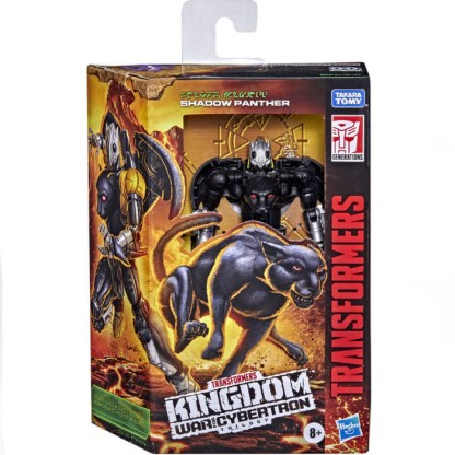 Transformers War for Cybertron: Kingdom Shadow Panther Action Figure Toy