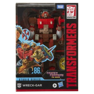 Transformers Studio Series 86 The Transformers: The Movie Wreck-Gar Action Figure Toy