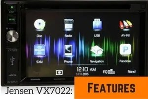 jensen best double din head unit for android