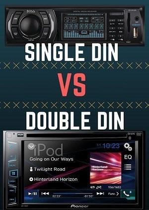 single din vs double din head units