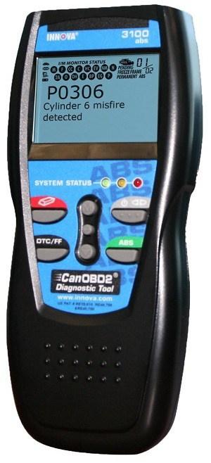Innova 3100i obd2 scan tool review