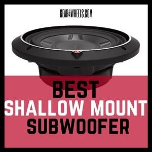 Best Shallow Mount Subwoofer 2017