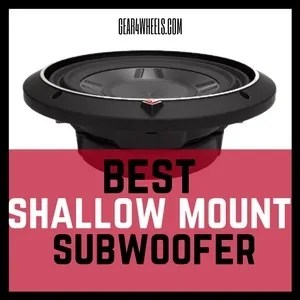 Best Shallow Mount Subwoofer 2017