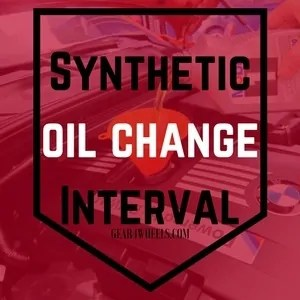 How often to change full synthetic oil in car 13