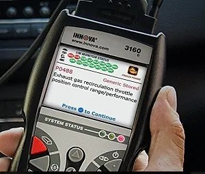 obd2 scanner screen