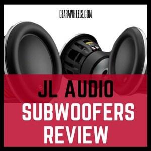 Jl Audio subwoofers review