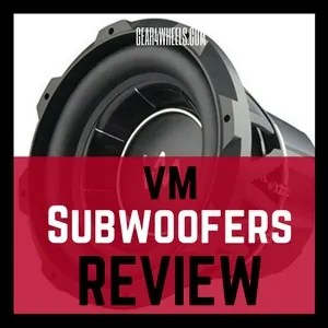 vm subwoofers review