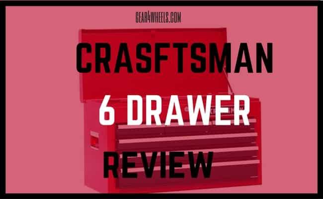 crasftsman 6 drawer review
