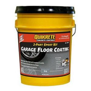 epoxy paint garage floor