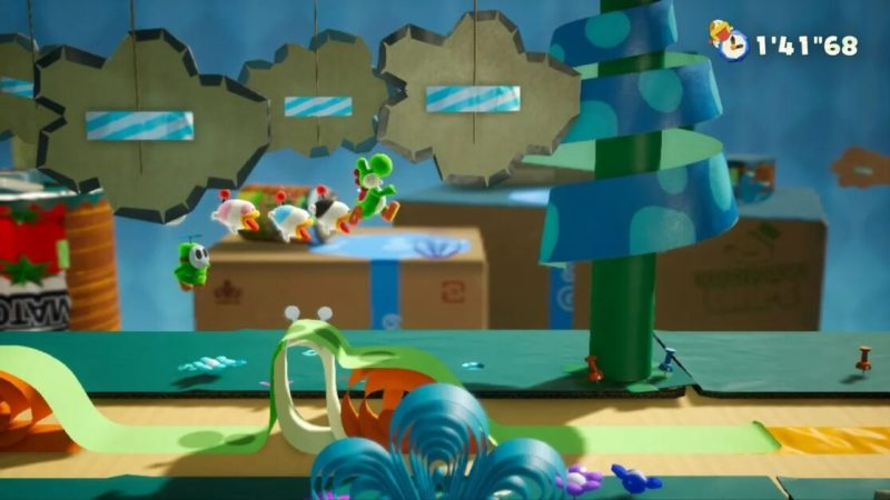 Yoshi's crafting a new kind of game