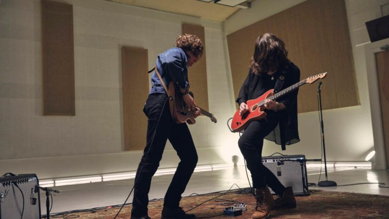 What it's like to play the Fender Acoustasonic Strat, the most high-tech guitar ever made