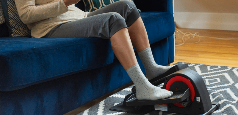 The best way to get your 10,000 steps in while working at home with the Cubii Pro