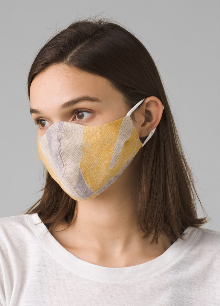 Prana's Silverbac sntimicrobial masks is a sustainable option