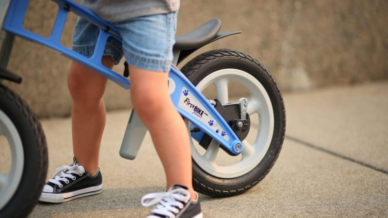 My son's FirstBIKE is exactly the first bike he needs