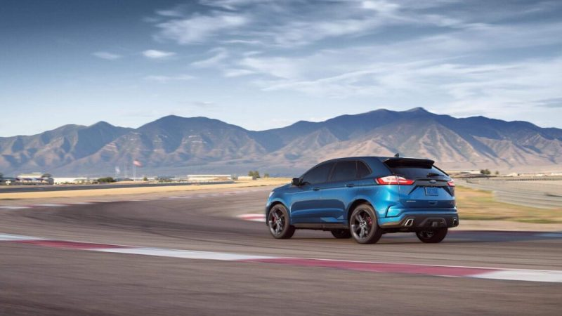 Why the 2020 Ford Edge ST AWD just won't slip