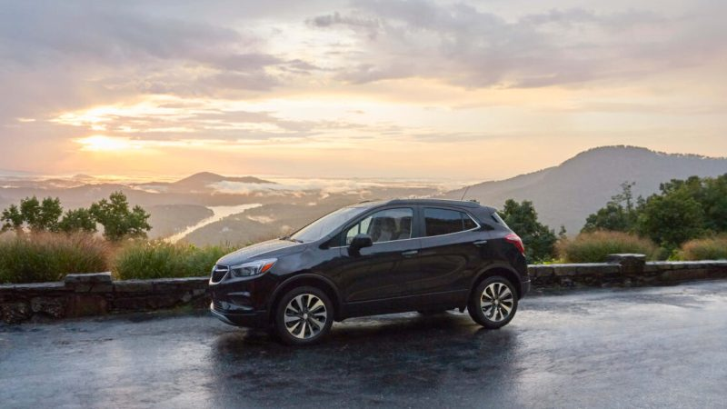 The Buick Encore shows you exactly where to drive at Caribou