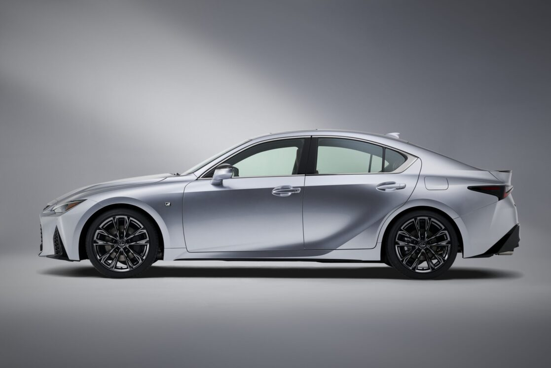 There's something new and different about the 2021 Lexus IS 350