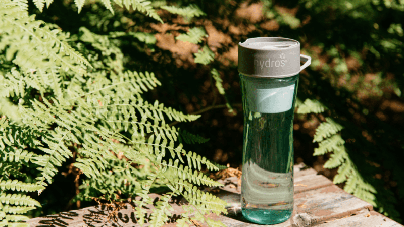 Let the Hydros Water Filter Bottle deal with the rough side of life