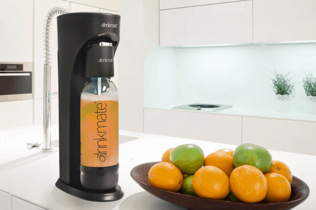 Drinkmate beverage carbonator