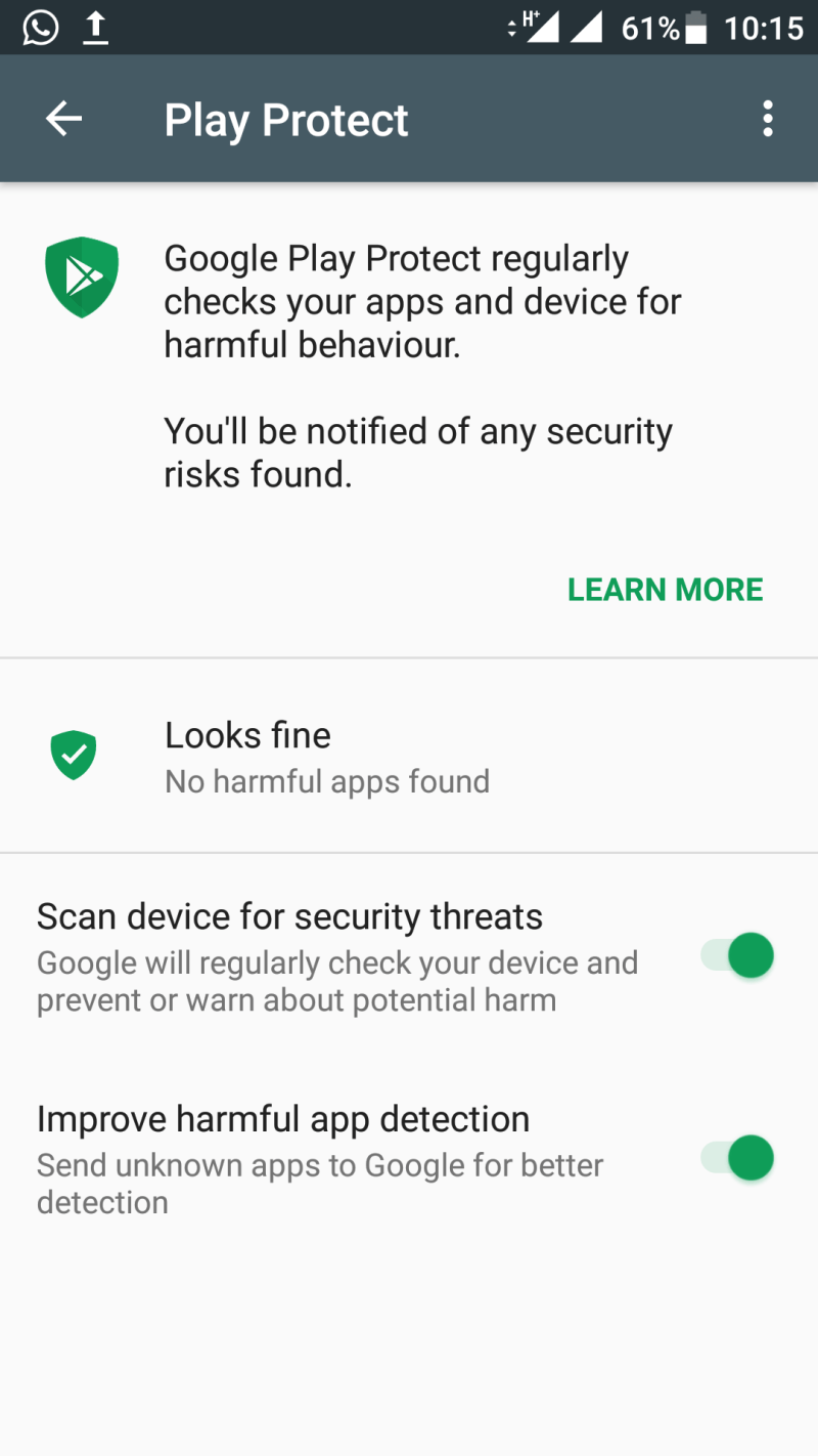 Google Play Protect